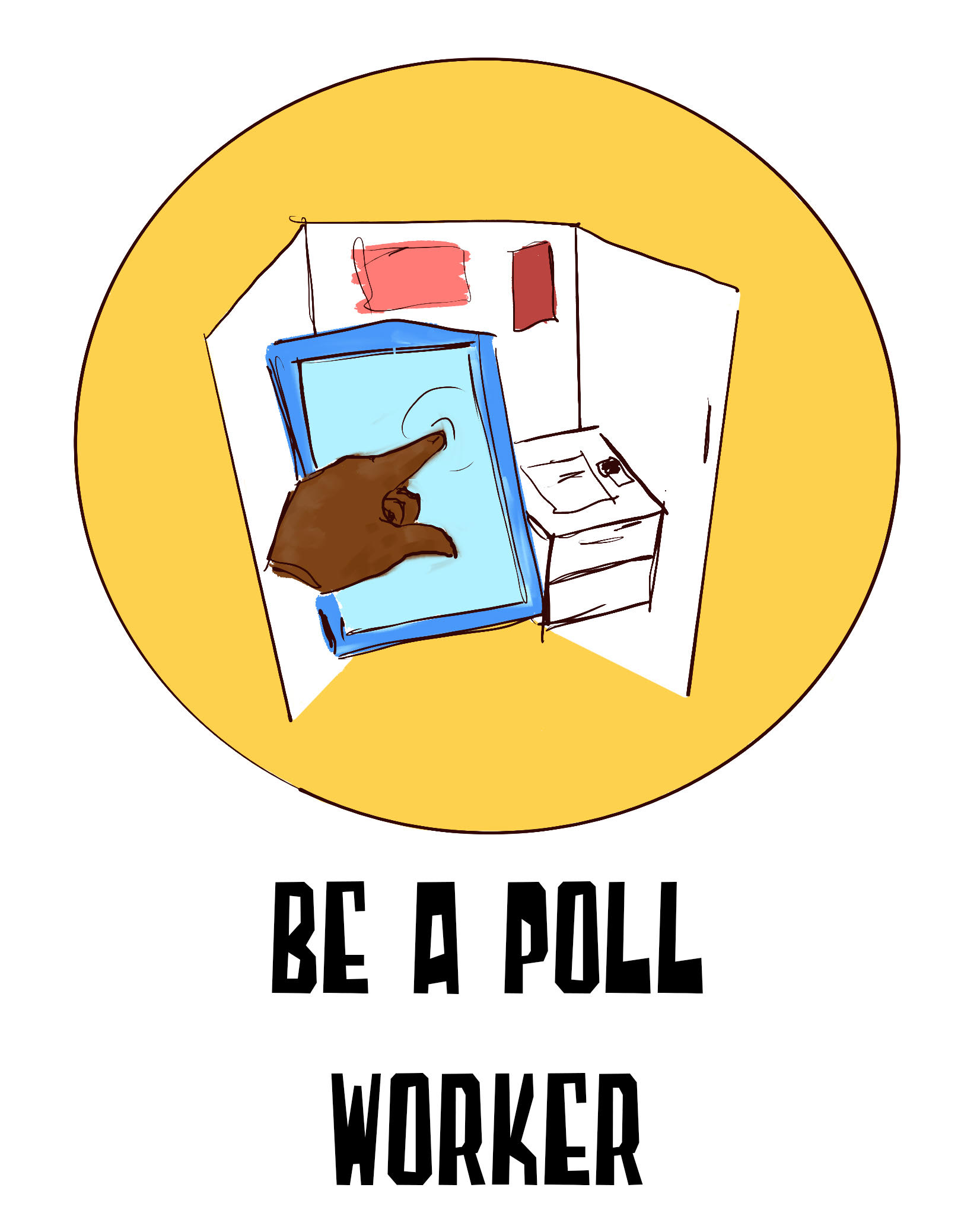 Be A Poll Wrker